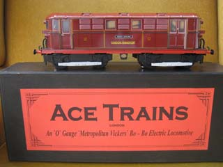 Ace Trains Metropolitan Vickers Bo-Bo Electric Locomotive