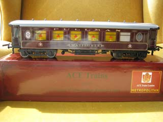 Ace Trains Metropolitan Railway Coach Mayflower