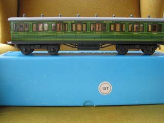 Ace Trains Tin Painted Railway Coach SR First
