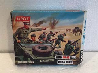 Airfix Model Kits - Afrika Korps HO-OO Scale