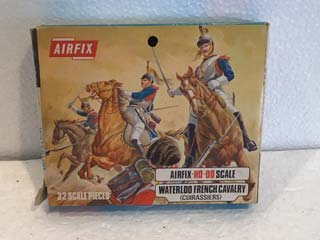 Airfix Model Kits - Waterloo French Cavalry (Cuirassiers) HO-OO Scale
