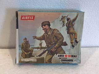 Airfix Model Kits - Commandos HO-OO Scale