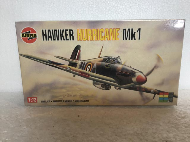 Airfix Model Kits - Hawker Hurricane MK1 1:72 Scale