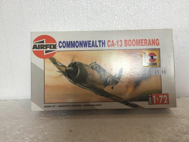 Airfix Model Kits - Commonwealth CA-13 Boomerang Series 2 1:72 Scale