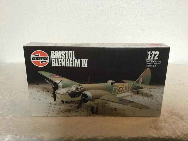 Airfix Model Kits - Bristol Blenheim IV Series 2 1:72 Scale