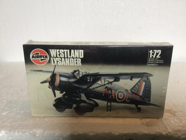 Airfix Model Kits - Westland Lysander Series 2 1:72 Scale