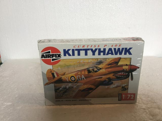 Airfix Model Kits - Kittyhawk Series 1 1:72 Scale