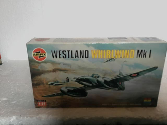 Airfix Model Kits - Westland Whirlwind MK1 Series 2 1:72 Scale