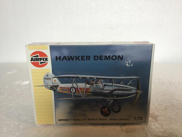Airfix Model Kits - Hawker Demon Series 1 1:72 Scale