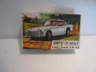 Airfix Model Kit - Triumph TR 4A Airfix 1/32 Scale