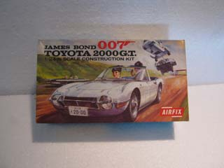 Airfix Model Kit - James Bond 007 Toyota 2000 GT Airfix 1/24 Scale