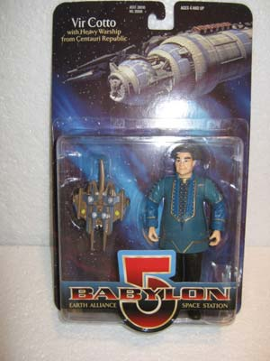 Vir Cotto with Heavy Warship from Centauri Republic - Babylon 5 Earth Alliance Space Station