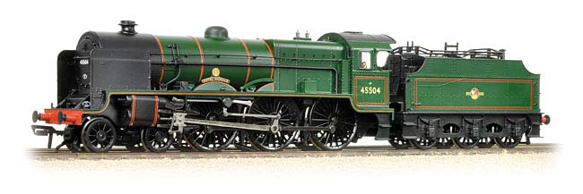 Bachmann Branchline 31-213DS Class 6P Patriot 4-6-0 45504 Royal Signals in BR green with late crest