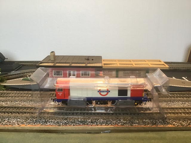 Bachmann Railways 32-030Y 21 DCC Class 20 Diesel Locomotive London Underground Commissioned Specially For London Underground Museum