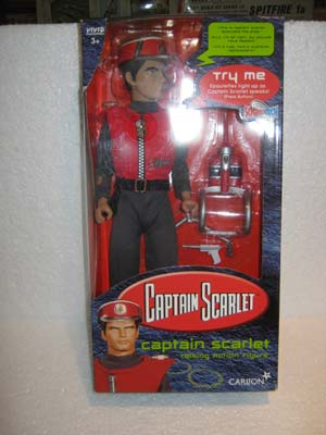 Captain Scarlet Talking Action Figure