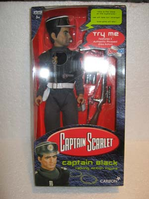 Captain Black Talking Action Figure