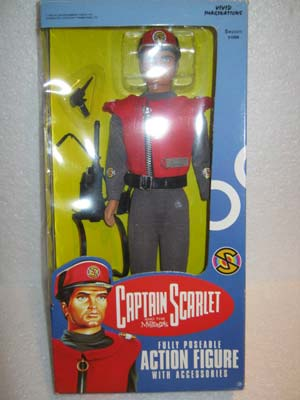 Captain Scarlet and the Mysterons Fully Poseable Action Figure with Accessories