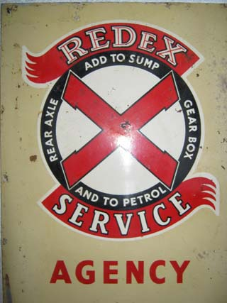 Redex Service Agency Sign