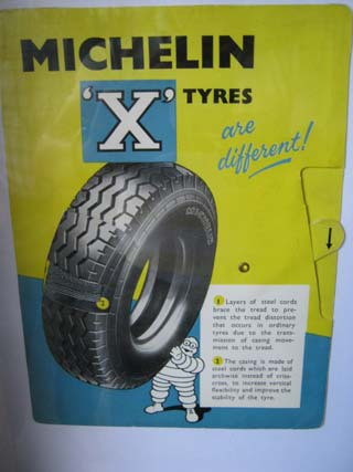 Michelin 'X' Tyres are different! Sign