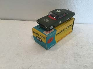 Corgi Toys 358 Oldsmobile Staff Car