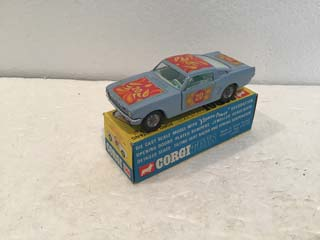 Corgi Toys 348 Ford Mustang Pop Art