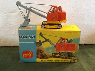 Corgi Major Toys 1128 Priestman Cub Shovel