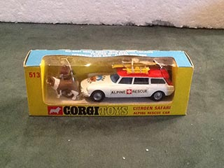 Corgi Toys 513 Citroen Safari Alpine Rescue Car
