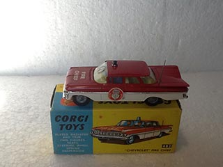 Corgi Toys 482 Chevrolet Fire Chief