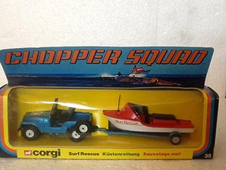 Corgi Toys Gift Set No 35 Surf Rescue