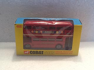 Corgi Toys 468 Routemaster Bus Outspan Oranges