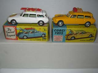 Corgi Toys 475 Citroen Safari Corgi Ski Club and Corgi Toys 436 Citroen Safari ID 19