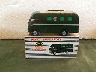 Dinky Supertoys 967 BBC TV Mobile Control Room