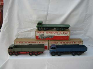Dinky Super Toys 501 and 502
