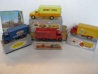 Dinky Super Toys Commercial Vehicles 514, 918, 923, 930