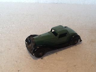 Dinky Toys Vintage 36B Bentley Two Seater Sports Coupe