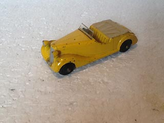 Dinky Toys Vintage 38B Sunbeam Talbot Sports Car