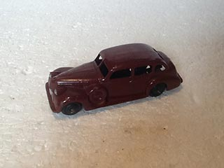 Dinky Toys Vintage 39D Buick Viceroy Saloon