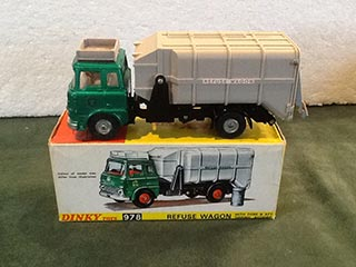 Dinky Toys 978 Refuse Wagon