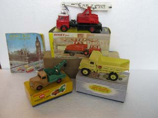 Dinky Toys Commercial Vehicles 430, 965, 970