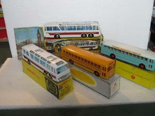 Dinky Toys Public Transport Vehicles 949, 952, 953, 954