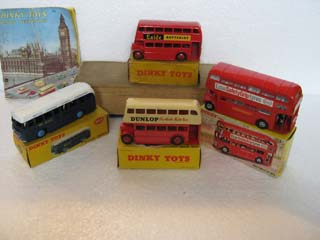 Dinky Toys Public Transport Vehicles 283, 289, 290, 291