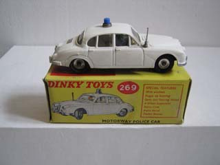 Dinky Toys 269 Jaguar Motorway Police Car