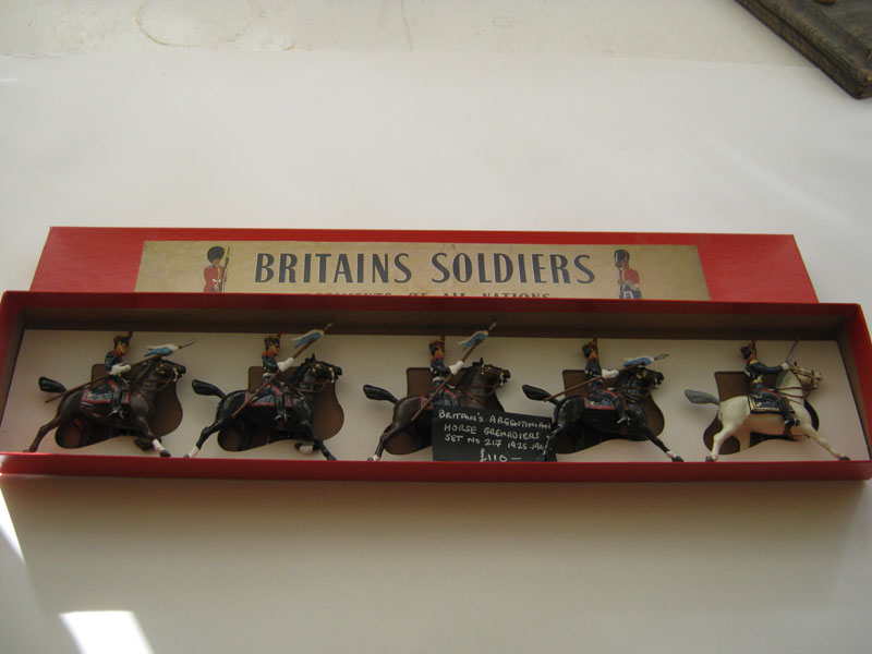 Britains Argentinian Cavalry (Repainted) Set 217 1925-1947