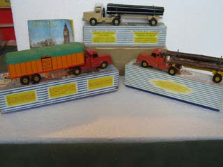 French Dinky Commercial Vehicles 36B, 893, 897