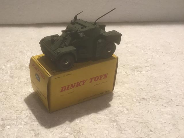 French Dinky Toys 814 AML Panhard Armoured Car Aquitania Collectables