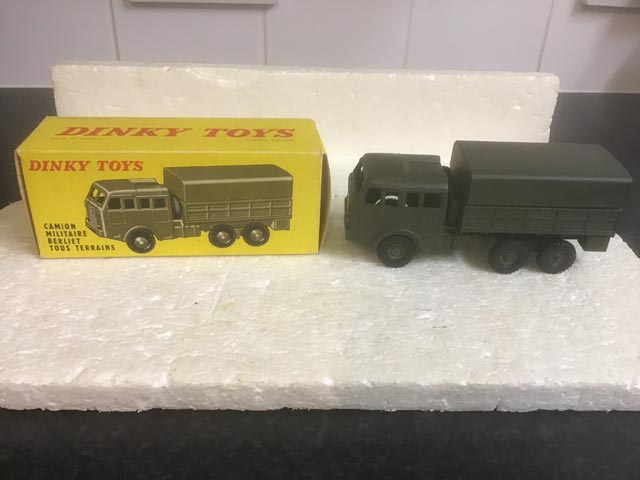 French Dinky Toys 818 Camino Militaire Berliet Tous Terrains Aquitania Collectables