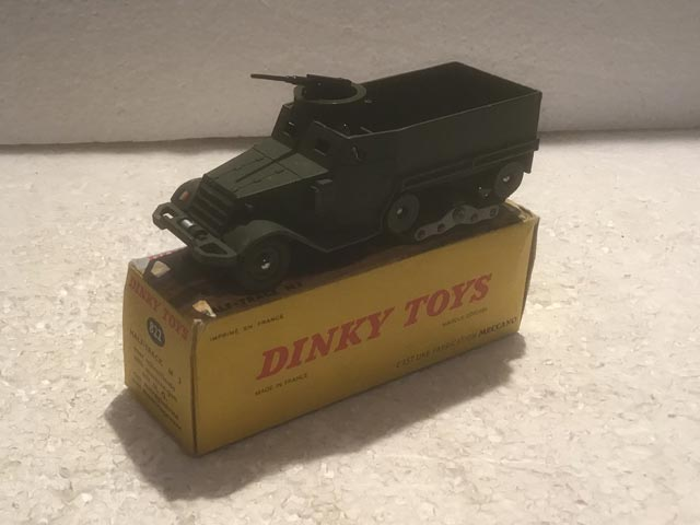 French Dinky Toys 822 Half-Track M3 Aquitania Collectables