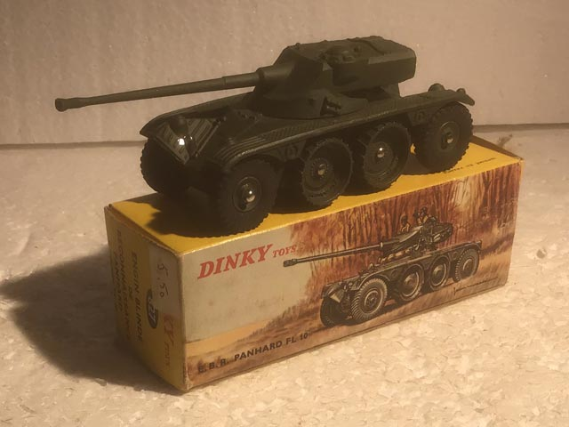 French Dinky Toys 827 Panhard EBR75 FL10 Aquitania Collectables