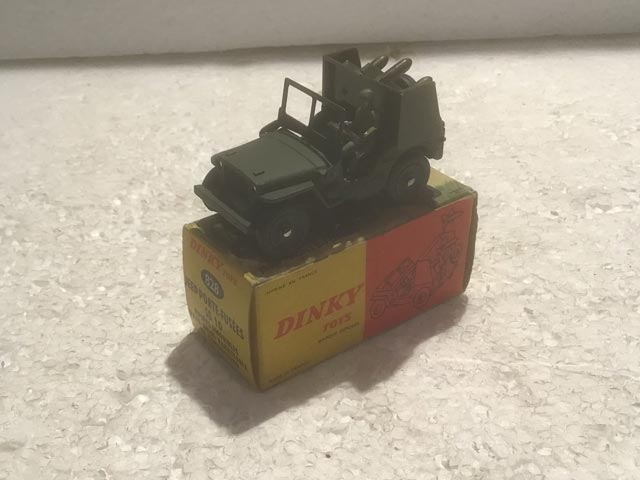 French Dinky Toys 828 Jeep SS10 Missile Launcher Porte Fusees Aquitania Collectables