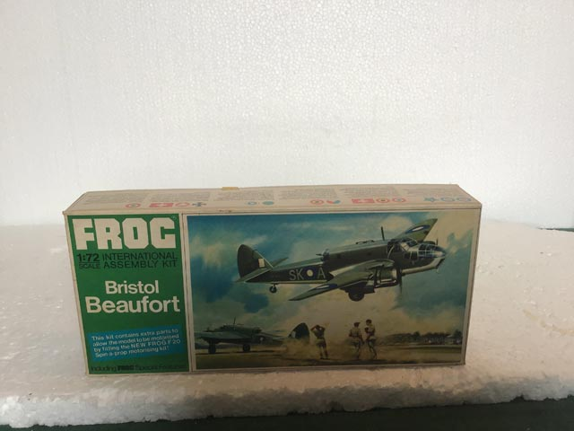 Frog Model Kits - Bristol Beaufort Green Series 1:72 Scale